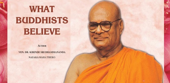 Venerable Dr. Kirinde Sri Dhammananda Thero