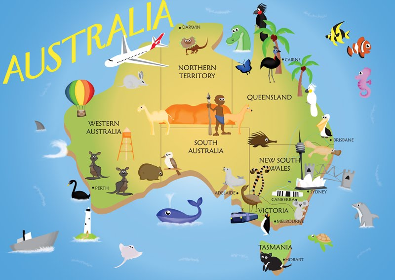 Australia - The Land Down Under