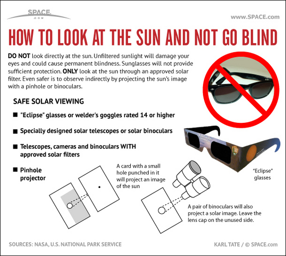Safe Sun Observing Tips