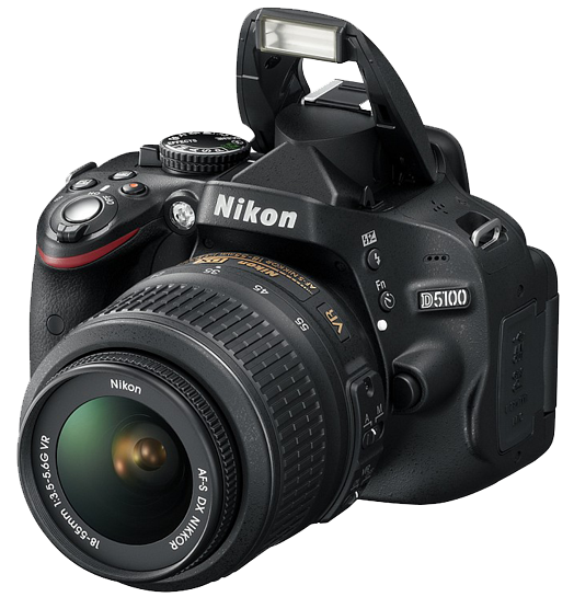 Nikon D5100 Digital SLR Camera With 18-55mm VR Lens