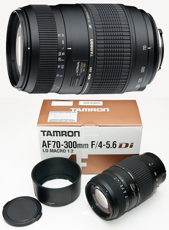 Tamron 70-300mm Di LD f4-5.6 Macro 1~2
