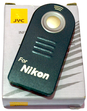 JYC IR Remote Control for Nikon