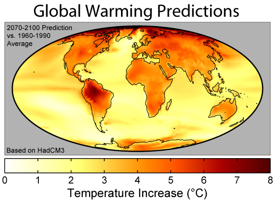 Global Warming Will Continue For the Next Century