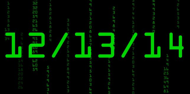 12/13/14, marks the last sequential date of the century.