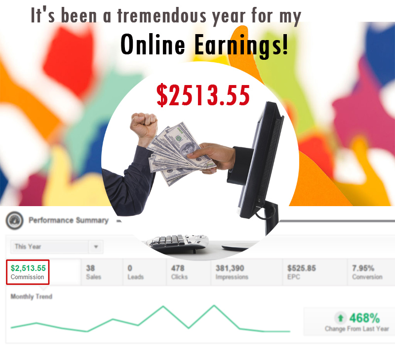 My Online Earnings Reports - 2014 - Kariyawasam -Sri Lanka