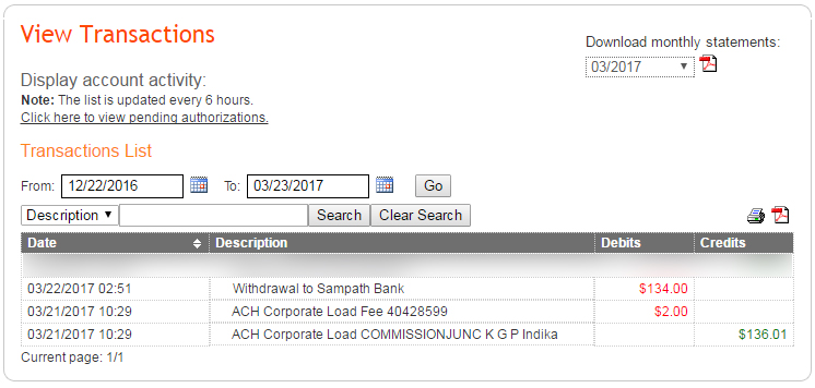 Payoneer to Sampath Bank Sri Lanka - My First Transaction
